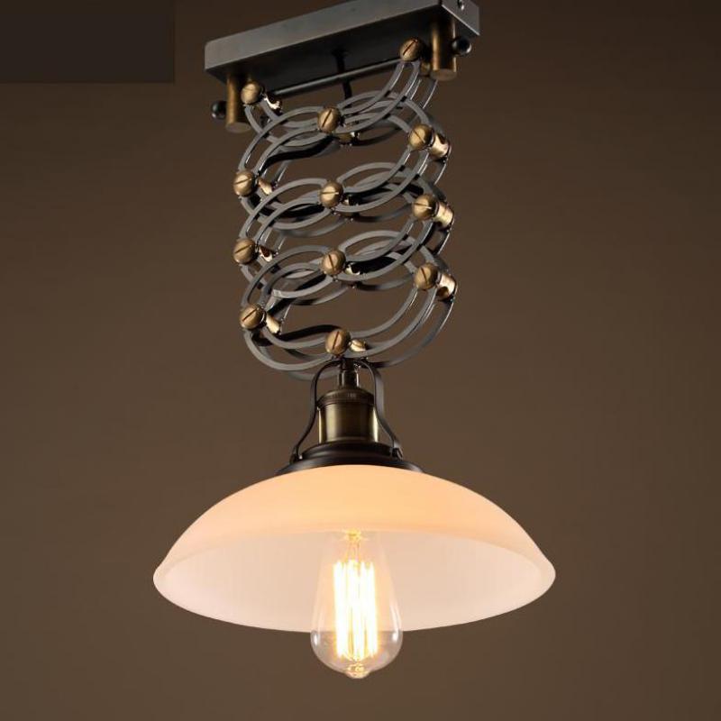 Retractable Pendant Light