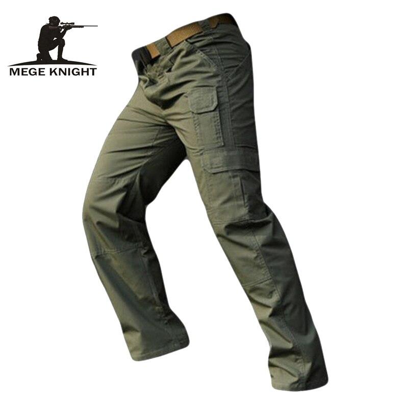 MEGE ブランド都市戦術的なリップストップパンツ、軍のカーゴパンツ紳士服、カジュアル軍パンツ、エアガン Painball ズボン  グループ上の メンズ服 からの カーゴパンツ の中 1