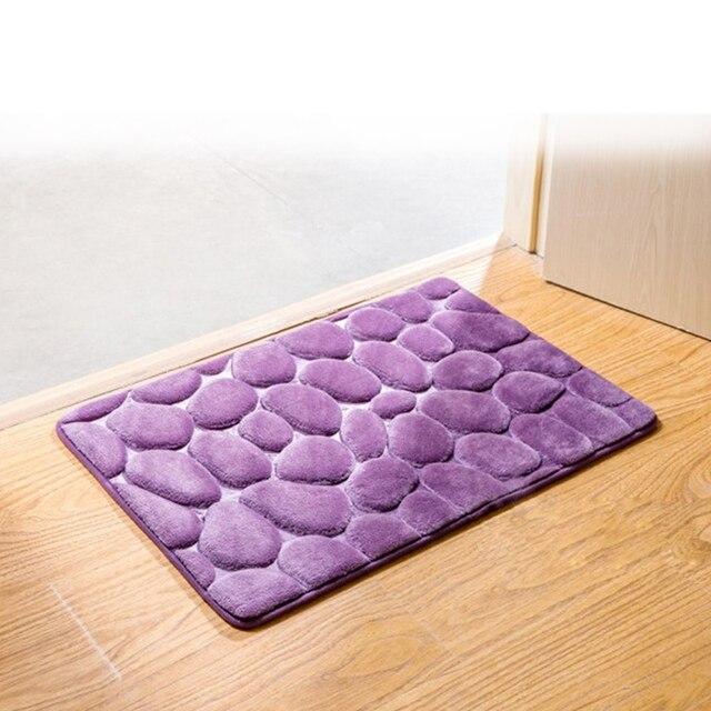Hot Sale Simple 3D Cobblestone Doormats Home Entrance Hall Door Mats  Bedroom Bathroom Kitchen Living Room Part 78