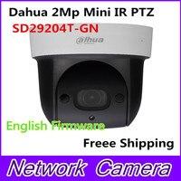 Dahua sd29204t gn заменить sd29204s gn 2mp Сеть мини ИК купольные IP Скорость купол 4X оптический зум английский прошивки Freee Доставка