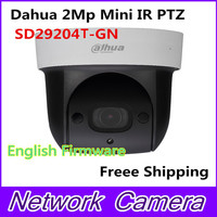 Dahua SD29204S GN 2Mp Network Mini IR PTZ Dome IP Speed Dome 4x Optical Zoom English
