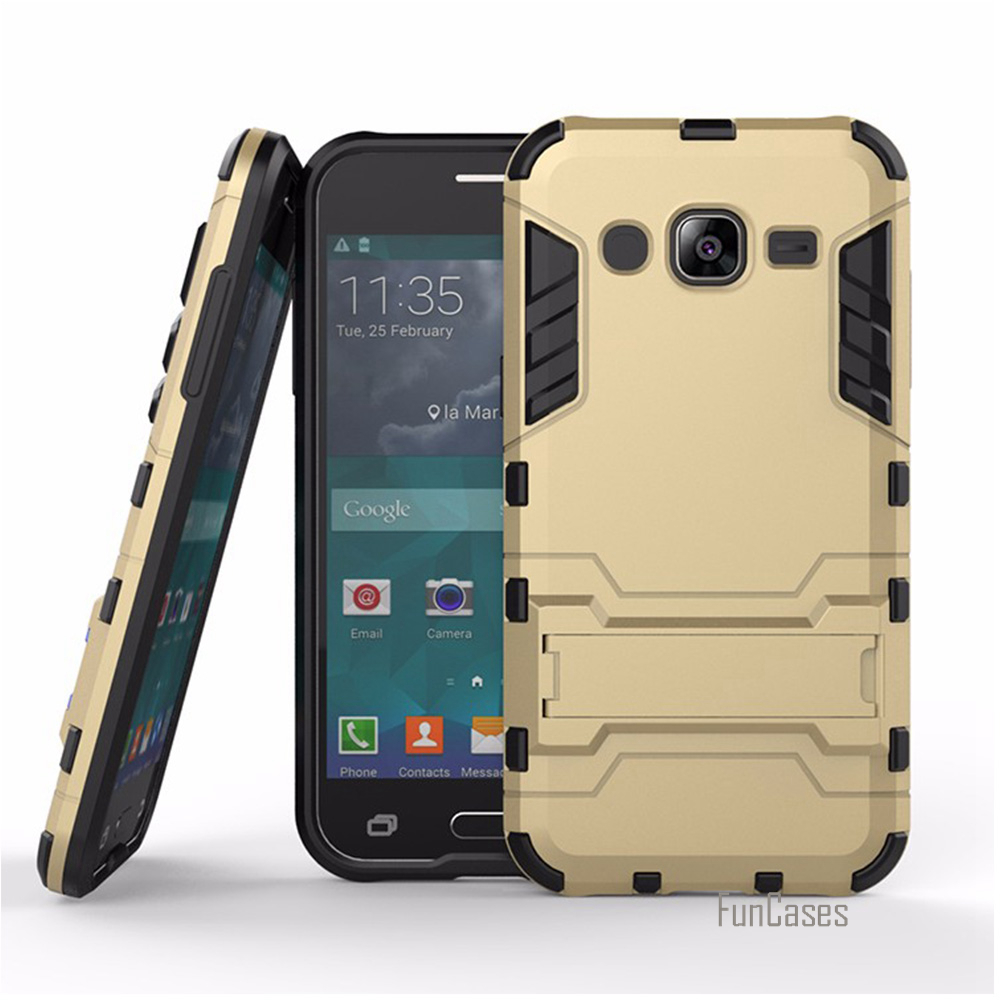 Best For Samsung J3 Case Kickstand Heavy Duty Hybrid Hard Rugged Rubber Cover for Samsung Galaxy j3 Phone Armor 5 Inch Cases bag