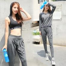 New Yoga Set Women Sport Running Hoodie Bra Breathable Vest Tank Tops Gym T-Shirt+Jogger Pants+Hooded Bra Black Training Fitness