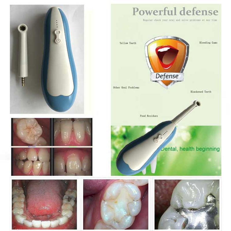 WIFI Dental Intraoral Camera HD 720P Oral Dental Endoscope Teeth Mirror for IOS Android PC @ME88 usb intraoral oral dental camera with 6 led light multifunctional ear nose camera medical otoscopio endoscope for home use
