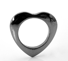 50Pcs DIY Gunmetal Heart Hollow Charm Pendants Breloque Coeur 34x35mm(1 3/8