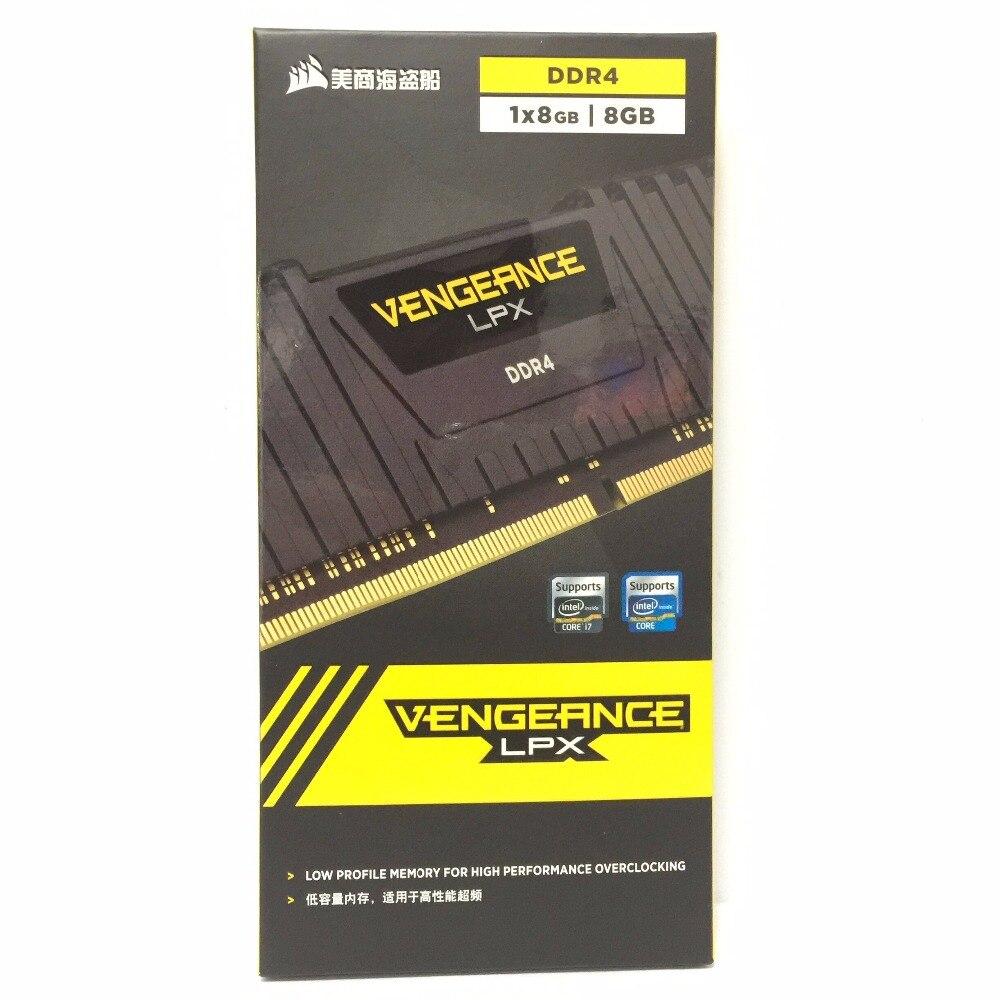 CORSAIR Vengeance LPX 8 GB 8G DDR4 PC4 2400 Mhz 3000 Mhz 3200 Mhz Module 2666 Mhz 3000 PC ordinateur ram de bureau mémoire 16 GB 32 GB DIMM - 2