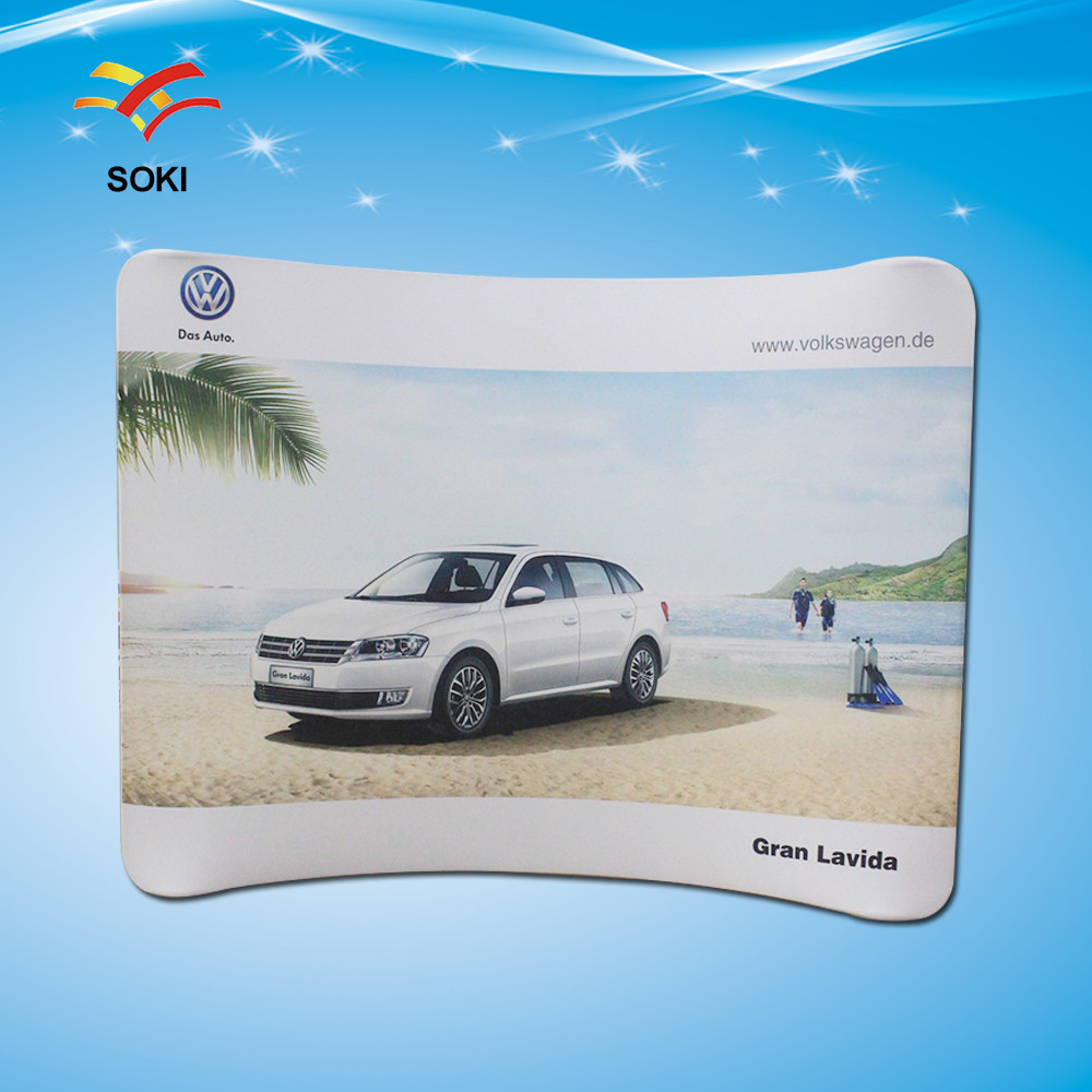Aliexpresscom Buy Ft Tension Fabric Exhibition Advertising - Portable car show display stand