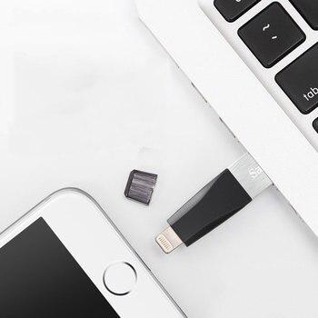 USB Speichersticks   SanDisk Usb Disk Otg 16GB 32GB 64GB Usb Flsh Drive 128GB 3,0 Speicher Festplatte Mit Hoher Geschwindigkeit 90 MB/s Stick Otg Iphone/iPad/iPod/laptop