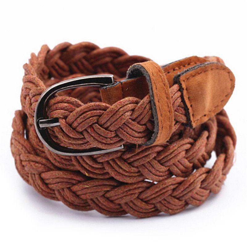 Length 102cm Womens Belt Candy Colors Hemp Rope Braid Belt Female Belt For Dress New Arrival