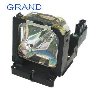 Image 1 - Venda da fábrica brandnew POA LMP86 substituição lâmpada do projetor nua com habitação para sanyo PLV Z1X/PLV Z3 bate feliz