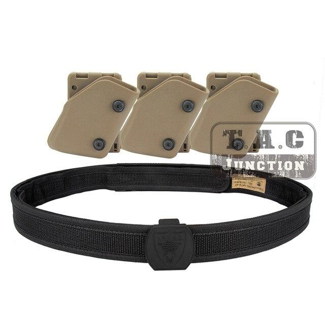 IPSC étui USPSA IDPA Magazine poche compétition haute vitesse tir intérieur et extérieur ceinture rapide tirage pistolet Mag transporteur pochette