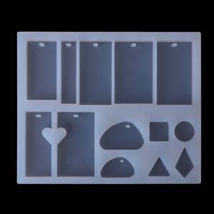 Image 5 - 1 Set Epoxy Harz Kit Schmuck Casting Werkzeuge DIY Handgemachte Handwerk Geschenke Halskette Armband, Die Entdeckungen Silikon Form Löffel