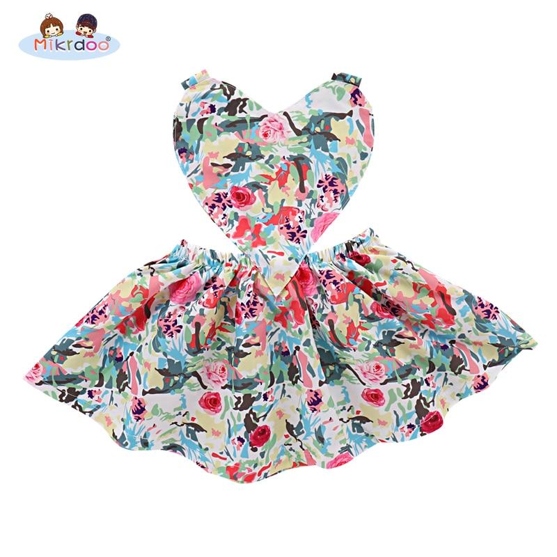 Baby Girls clothes 2018 summer style Toddler sleeveless Girls Princess Dresses Tutu Party Wedding birthday Formal Dress for girl