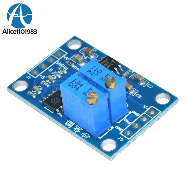 US $3 78 9% OFF|DC 3V 12V AD620 Microvolt MV Voltage Amplifier AC DC Signal  Instrumentation Module Transmitter Board Wide Voltage Replace LM358-in