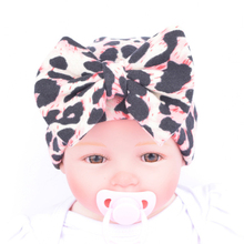 New Arrival Newborn Lovely Cute Hats With Flower Bowknot Flower Hat Suit For 0-5 Months Baby Cap High Quality