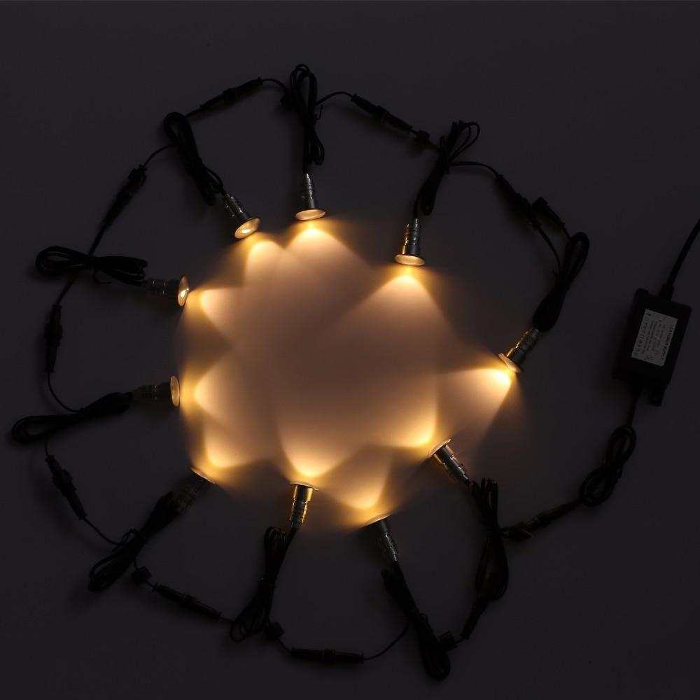 D' Água Retro Iluminação LED Embutido No-chão F101X