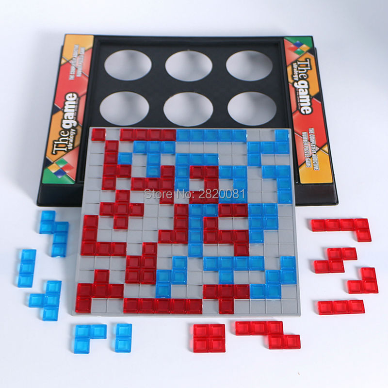 The strategy game whole family funny game,2 player puzzle&eduactional chess Blokus toys  ...