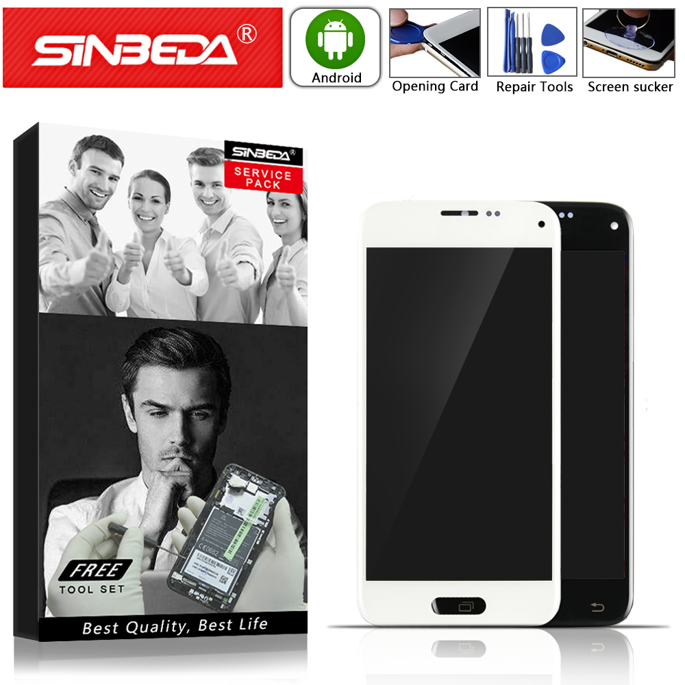 Super AMOLED For <font><b>SAMSUNG</b></font> Galaxy S5 Mini LCD <font><b>Display</b></font> Touch Screen Digitizer Assembly For <font><b>Samsung</b></font> G800H <font><b>G800F</b></font> G800 S5 mini Screen image