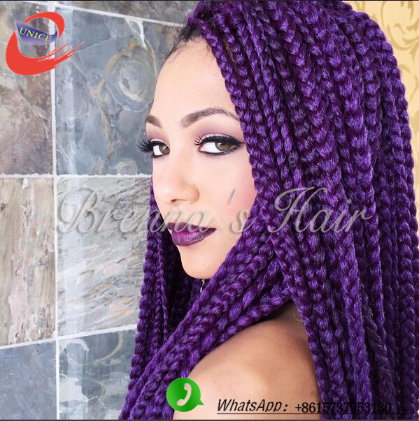 Crochet Box Braids Prices : 3S box braiding hair ombre colored crochet braids box braids african ...