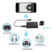 3.5mm 2 in 1 Wireless Bluetooth Transmitter and Receiver Headphones Audio Adapte For iPhone Samsung PC TV Bluetooth Speake