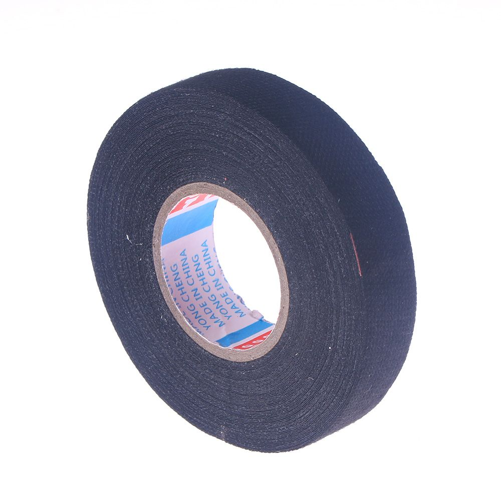 19mmx7m Universal Flannel Fabric Cloth Tape Automotive Wiring Non Woven Harness Looms Cars Wir Ing Strong Adhesive For 19mm