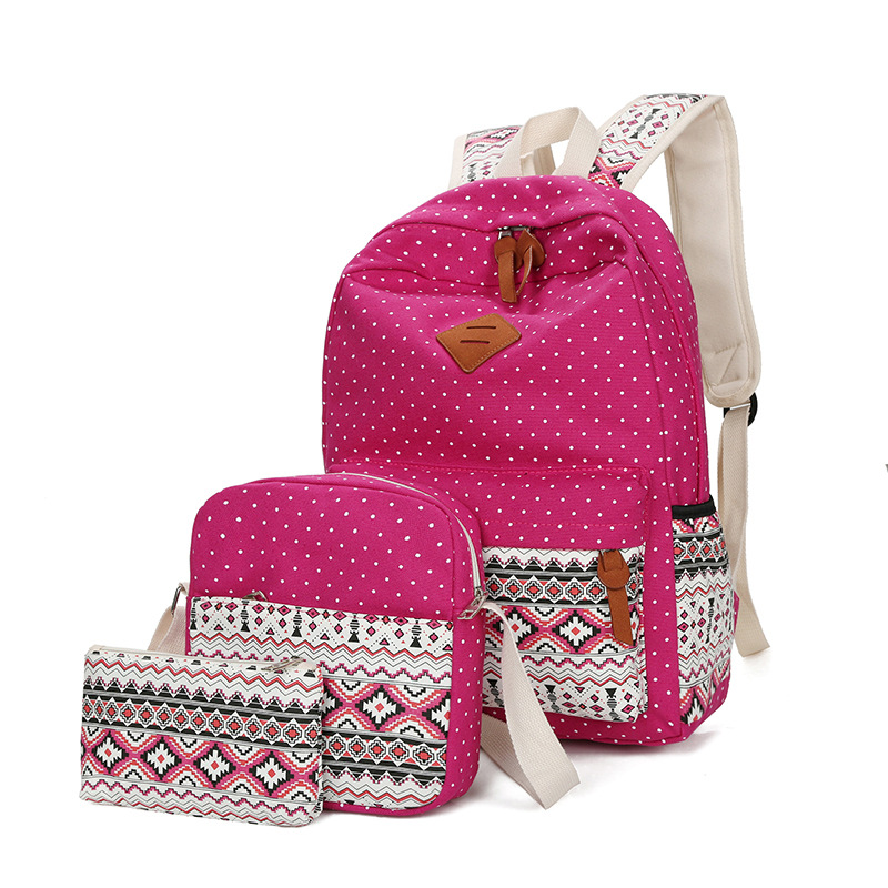 cfb149723d5d ... YK-Leik 2018 fashion ethnic style women backpack High quality canvas  backpacks kids school bags ...