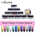 New 2g/box Shinning Mirror Nail Glitter Powder Dust DIY Nail Art Sequins Chrome Pigment Decorations 12 Colors Optional