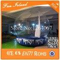 O Envio gratuito de Diâmetro 3 m 0.5mm PVC Inflável Bola de Neve, Anunciar Show de Bola inflável, Inflável Globo de Neve