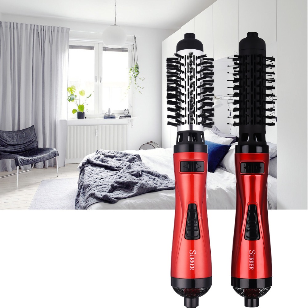 1000W 2 in 1 Multifunctional hair dryer brush Automatic Rotating Hair Brush Roller Styler Comb Dryer Hair Styling Tool 220V S471000W 2 in 1 Multifunctional hair dryer brush Automatic Rotating Hair Brush Roller Styler Comb Dryer Hair Styling Tool 220V S47
