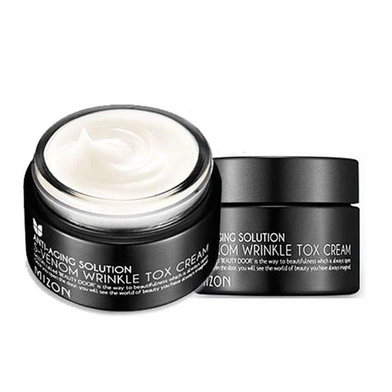 MIZON S-Venom Wrinkle Tox Cream 50ml Face Skin Care Whitening Moisturizing Anti-aging Anti Wrinkle Facial Cream Korean Cosmetics mizon collagen power lifting cream 75ml face skin care whitening moisturizing anti aging anti wrinkle korean facial cream