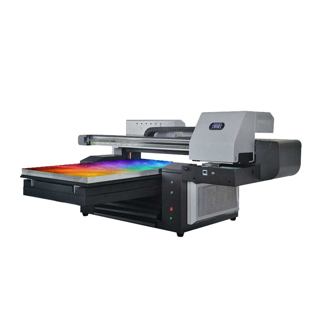 12 Colors 6090 UV flatbed Printer 6090 Large Format Multifunction Digital Inkjet UV printer for Phone case/Wooden Leather