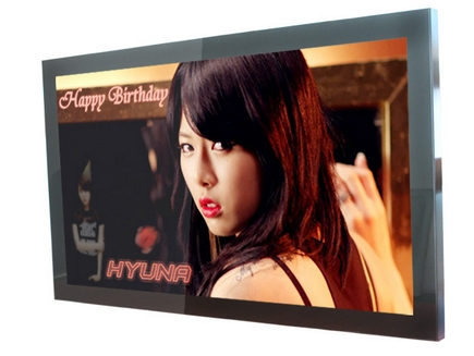 21.5 24 26 32 Inch HD Wireless 3G/WIFI Network Landscape/Portrait Signage Display,