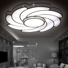 modern led living room ceiling lights design acrylic lamp bedroom kitchen light eclairage plafonnier luminarias lighting fit(China)