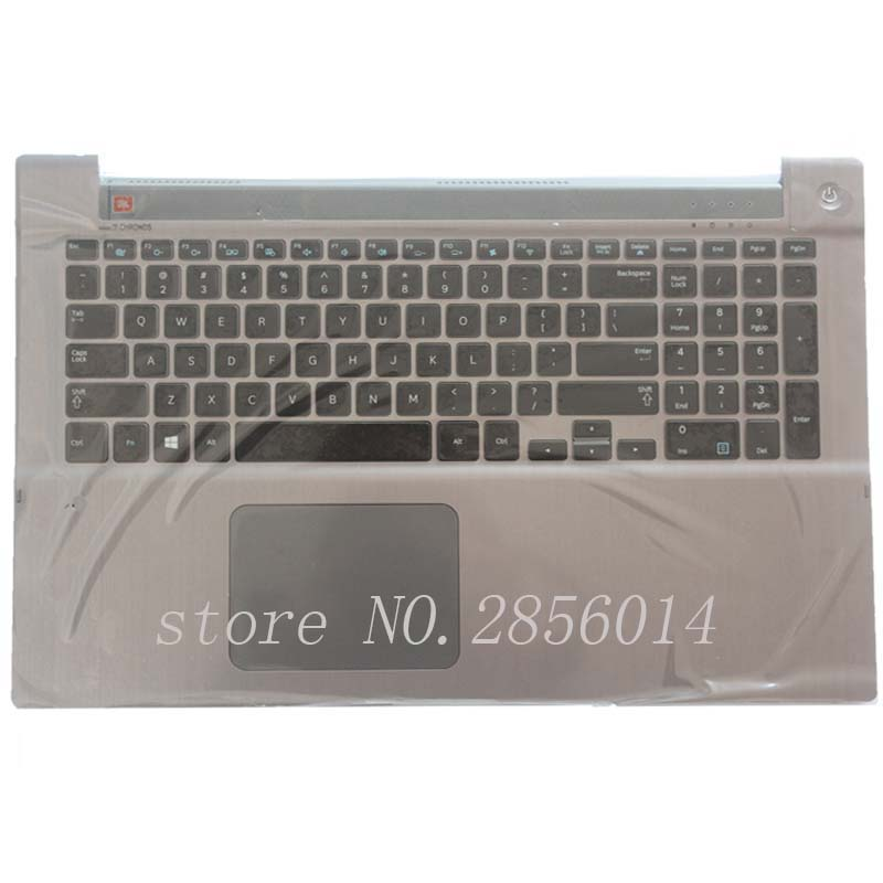 NEW!!! English For Samsung NP700Z7A NP700Z7B NP700Z7C Backlit keyboard US laptop keyboard with C shell for samsung qx410 qx411 laptop keyboard with c shell
