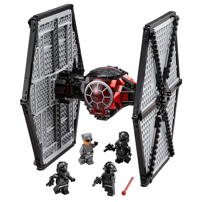 LEPIN 05005 Star Series Wars Special Forces TIE Fighter Model Building Blocks Bricks Kit Toys for Children Compatible With 79210 new 1685pcs lepin 05036 1685pcs star series tie building fighter educational blocks bricks toys compatible with 75095 wars