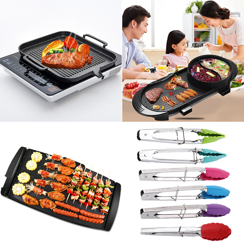 Aliexpress.com : Buy 1 Pc BBQ Tongs Silicone Cover Food