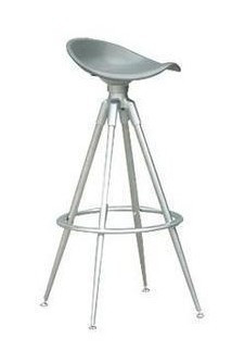 Cool Booth Metal Bar Stool Chair Lounge Saddle
