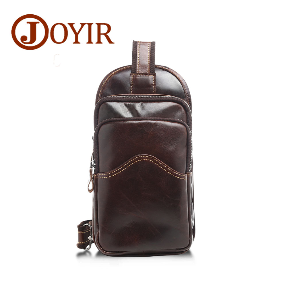 Fashion Designer Genuine Leather Men Chest Pack Crossbody Pouch Chest Bag Casual Small Shoulder Bag for Male Man Bag Gift joyir new arrival genuine leather cowhide chest pack men s crossbody chest bags casual small shoulder bag for male man bag 1308 page 7