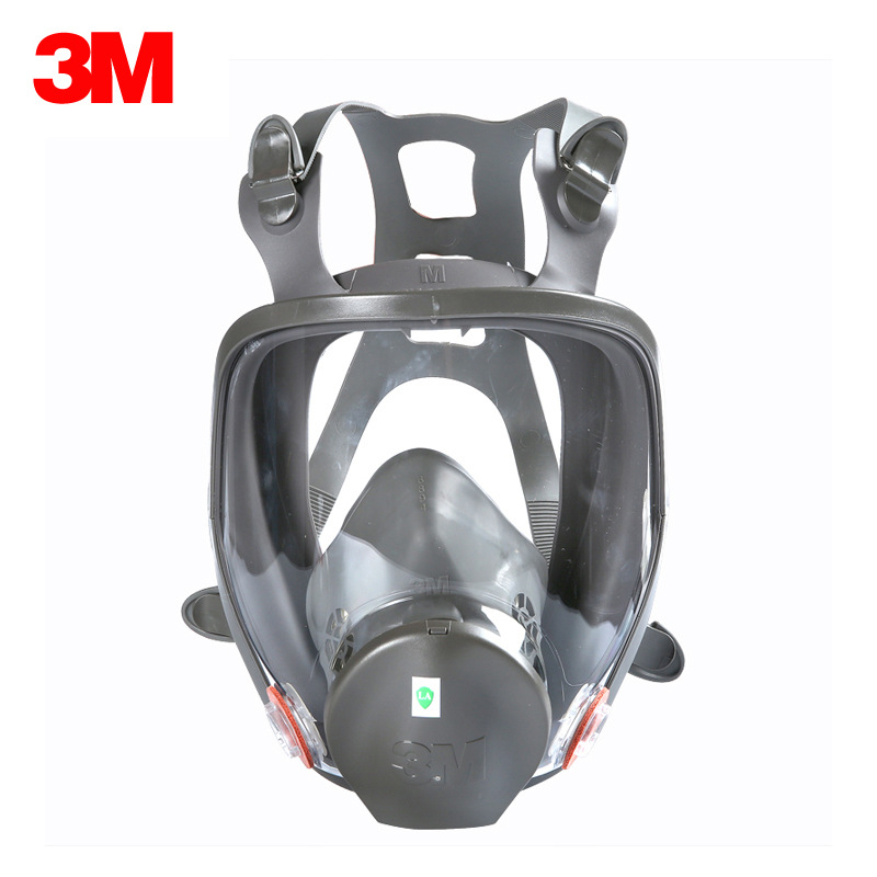3M 6800 Gas Mask Silicone Full Face Respirator Masks Multi Function Safety Mask for Industry Painting Spraying Toxic Gas Prevent 3m 6800 gas mask suit silicone full face respirator masks with filter cartridge safety mask painting spraying toxic gas prevent