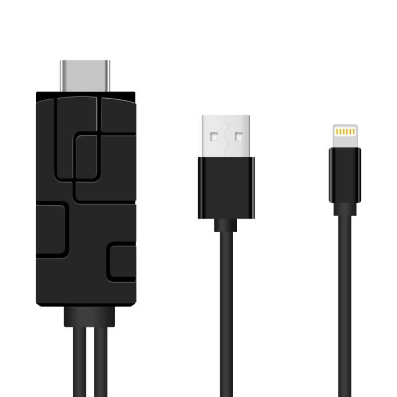 HDMI usb-модем для ТВ 2,4G 1080 P HD tv Dongle поддержка Miracast Airplay DLNA Play Google для IPhone 8 X серии iPad проектор 2 м
