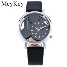 Rhinestone Women Watch 2016 Fashion Mickey Mouse Cartoon Watch Ladies Casual Quartz Wristwatch Women Dress Watches Montre Femme