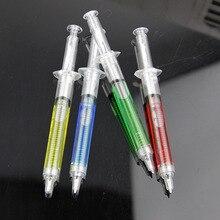 Шприц-своеобразная новизны шприц автоматическое многоразового пуля шариковая форма милые канцелярские ручка