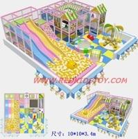 2014 Большой Крытый непослушный замок/торговый центр детский игровой центр три уровня/нетоксичен Детские площадки оборудования для внутренн