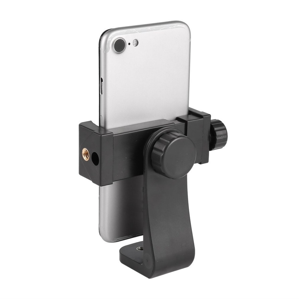 Universal Adjustable Tripod Mount Cell Phone Clip Vertical Bracket Clip Clamp Holder 360 Adapter For Smartphone