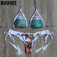 2016 Fashion Sexy Push Up Summer Beach Bathing Suit Women Swimsuit Swimwear Biquini Beachwear Bikini Set