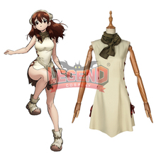 Cosplaylegend Anime Dr.Stone Yuzuriha Ogawa cosplay costume Outfit Halloween costume custom made цена