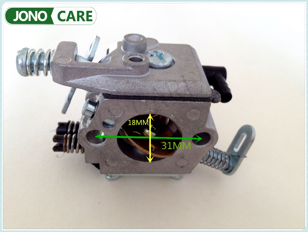 High Quality Carburetor Carb Replaces Parts for STIHL 021 023 025 MS210 MS230 MS250 Chainsaw fit Walbro WT 286 1123 120 0605 torktop 42 5mm cylinder piston kits and crankshaft fits for stil 025 023 250 230 chainsaw