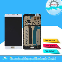 M Sen For 5 0 ASUS ZenFone Pegasus 4A ZB500TL With Frame LCD Screen Display Touch