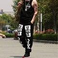 ¡ Venta caliente! nueva Llegada de Los Hombres del Estilo de Hip-Hop Pantalones Cuatro Estaciones Hombres Pantalones De Moda Casual de Gran Tamaño