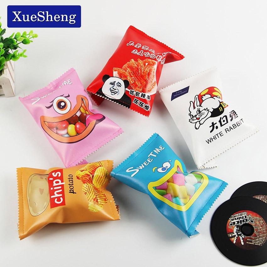 1PC New Potato Chips Pencil Case For School Supplies Kawaii School Stationery Pencil Case Pencil Box Pencil Bag